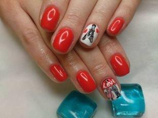 Дизайн ногтей, дизайн ногтей гель-лаком к 14 февраля