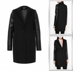 Черные пальто, пальто love republic, осень-зима 2016/2017