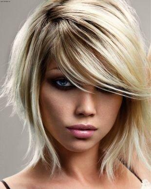 Причёски с распущенными волосами на короткие волосы, стрижка прическа каре