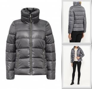 Серые куртки, куртка утепленная baon, осень-зима 2016/2017