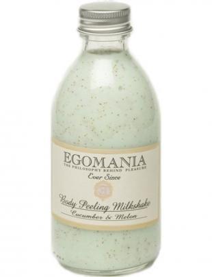 Скраб для тела, egomania молочко-скраб для тела огурец и дыня, 290 мл