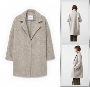 Бежевые пальто, пальто mango, осень-зима 2016/2017