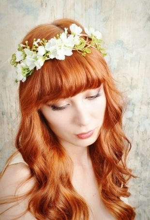 Легкий макияж для зеленых глаз, свадебный макияж для зеленых глаз и рыжих волос