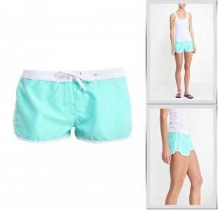 Бирюзовые шорты, шорты для плавания billabong, весна-лето 2015
