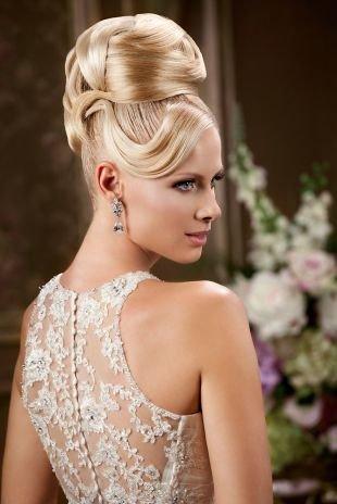 Цвет волос мокко блонд на длинные волосы, помпезная свадебная прическа на длинные волосы