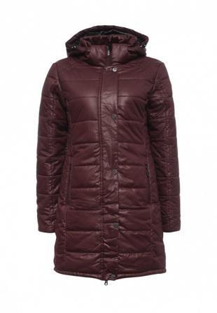 Бордовые куртки, куртка утепленная luhta, осень-зима 2016/2017
