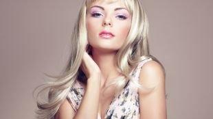 Макияж для голубых глаз, нежнейший женственный макияж для голубых глаз