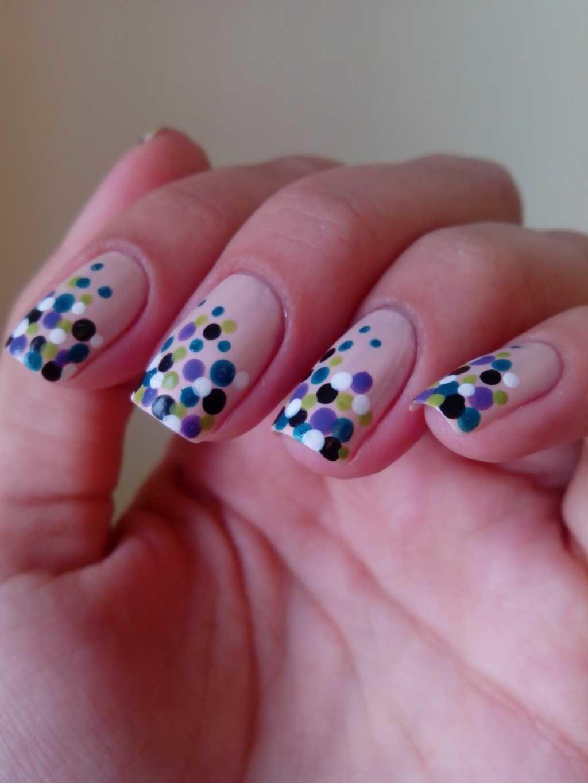 Фото яркие узоры ногти