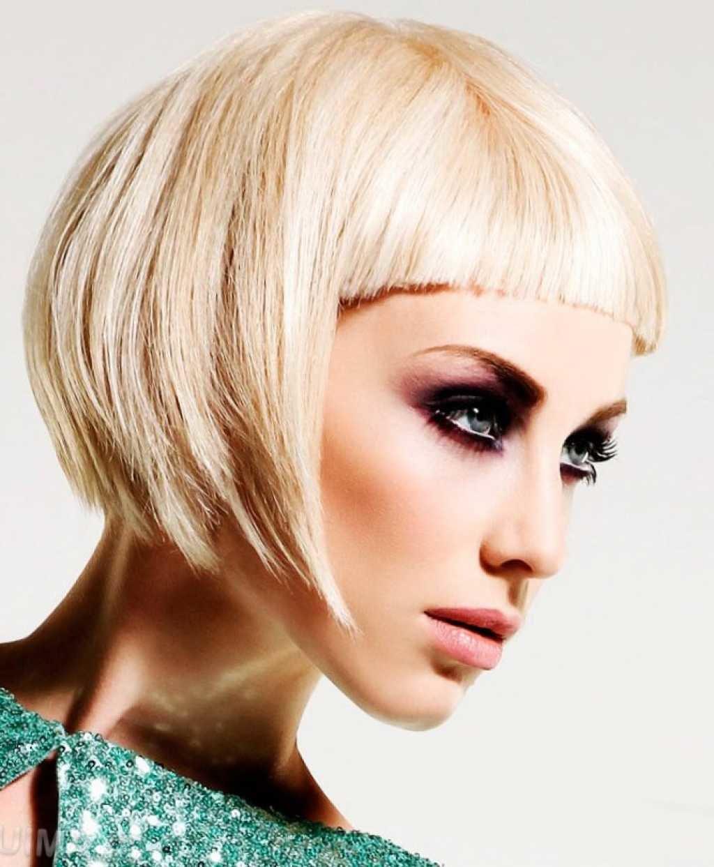 Прически на короткие не густые волосы фото Женские