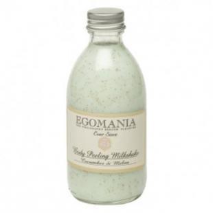 Скраб для сухой кожи тела, egomania молочко-скраб для тела огурец и дыня egomania - body peeling milkshake 194086 290 мл