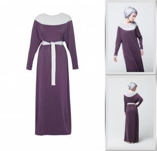 Фиолетовые платья, платье bella kareema,