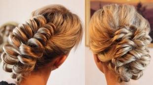 Свадебные прически с челкой, варианты причесок на длинные волосы
