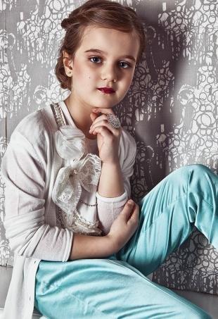 Макияжи для детей, праздничный макияж для девочки