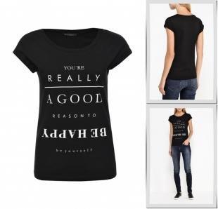 Черные футболки, футболка sela, осень-зима 2016/2017