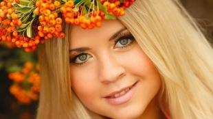 Естественный макияж для зеленых глаз, легкий макияж для блондинок