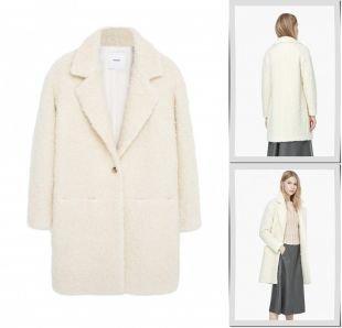Молочные пальто, пальто mango, осень-зима 2015/2016