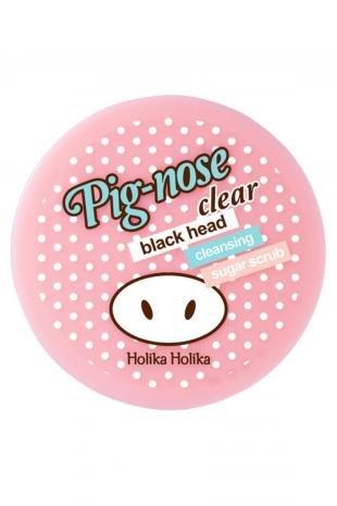 Скраб от черных точек, holika holika сахарный скраб