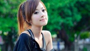 Корейский макияж, макияж для узких глаз