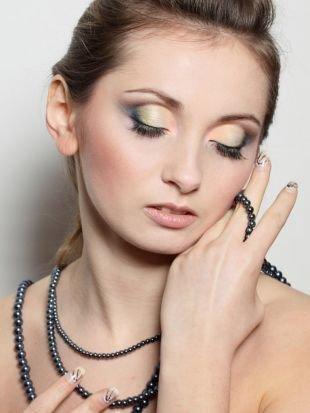Летний макияж для зеленых глаз, нежный макияж на день рождения