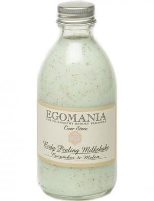 Скраб для сухой кожи тела, egomania молочко-скраб для тела огурец и дыня, 290 мл