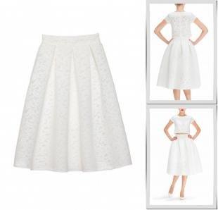 Белые юбки, юбка masha goryacheva,