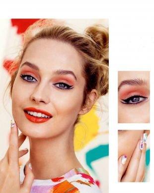 Макияж для увеличения глаз, яркий молодежный макияж для серых глаз