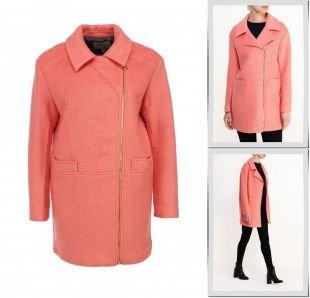 Коралловые пальто, пальто yumi, осень-зима 2015/2016