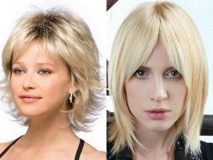 Цвет волос мокко блонд на средние волосы, стрижка для тонких волос средней длины