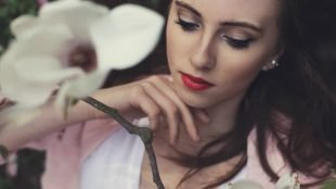 Макияж на фотосессию на природе, красивый макияж для брюнеток