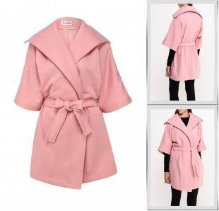 Розовые пальто, пальто tutto bene, осень-зима 2015/2016