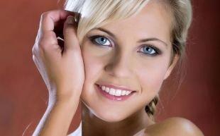 Макияж для голубых глаз под голубое платье, натуральный макияж для голубых глаз и светлых волос